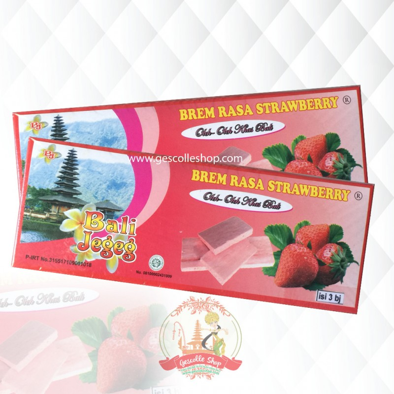 BREM STRAWBERRY BALI JEGEG